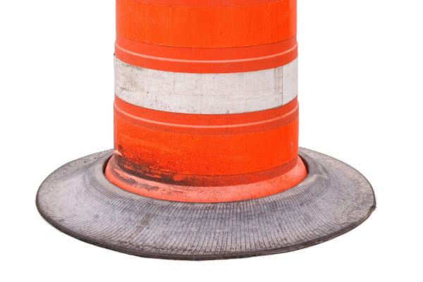 Base of WTPI Traffic Cone