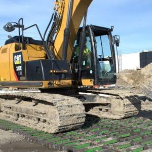 Mat Excavator